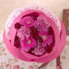 バラの形の花束 ペタロ・ローザ「コングラッチュレーションズ」