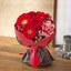 そのまま飾れるブーケ「赤ネクタイのサラリーマン」