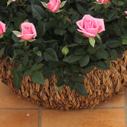ミニバラバスケット「パニエ ド フルール(ピンク)」