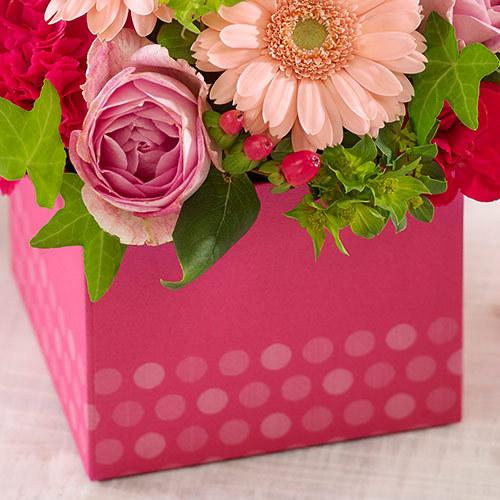 アレンジメント Sweet Box「キャンディポップ」
