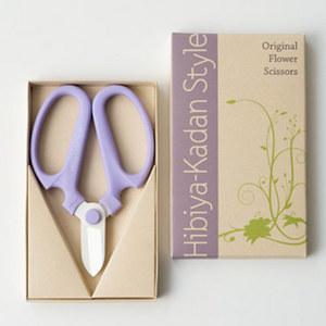 日比谷花壇オリジナル フローリストはさみ(パープル)の商品画像