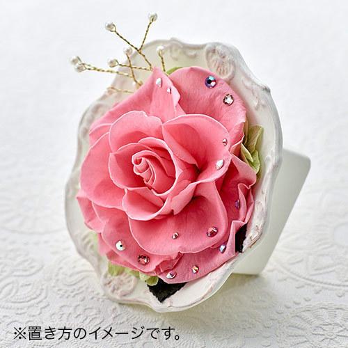 プリザーブドアレンジメント ジュエルローズ「ダイヤモンド」