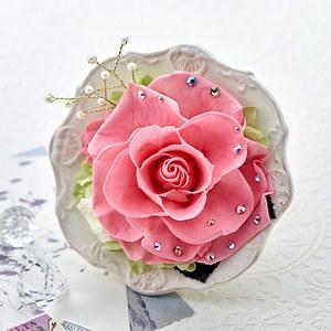 プリザーブドアレンジメント ジュエルローズ「オパール」の商品画像