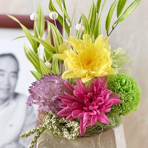 プリザーブドアレンジメント「想花」(おもいばな)