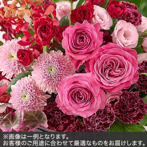 アレンジメントMサイズ(レッド・ピンク系)