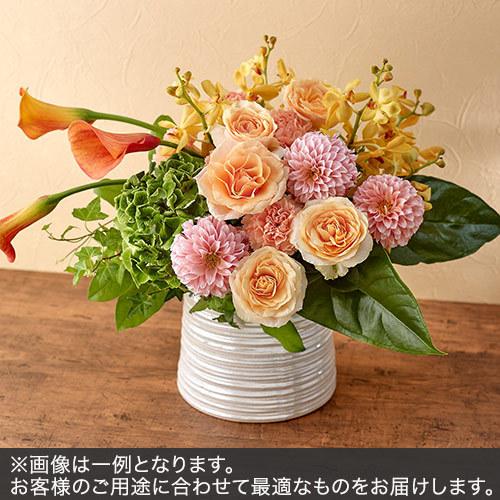 アレンジメントLサイズ(イエロー・オレンジ系)