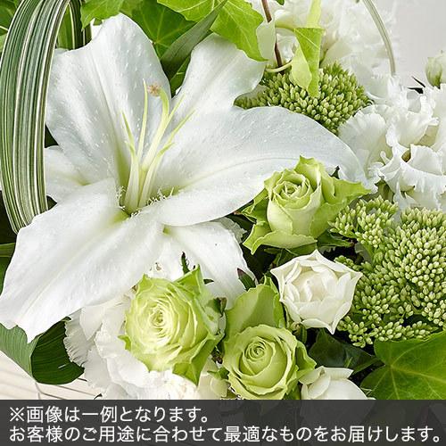 アレンジメントSサイズ(グリーン・ホワイト系)