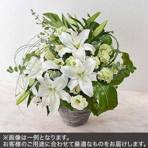 アレンジメントMサイズ(グリーン・ホワイト系)