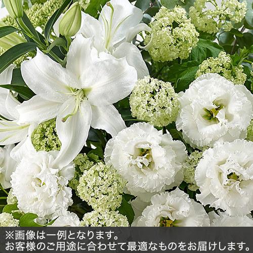 アレンジメントLサイズ(グリーン・ホワイト系)