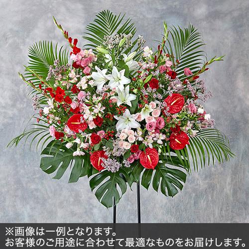 1段スタンド花Lサイズ(レッド・ピンク系)
