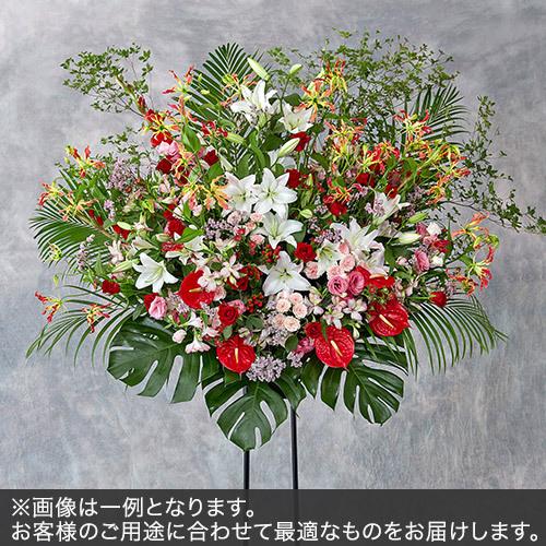 1段スタンド花LLサイズ(レッド・ピンク系)