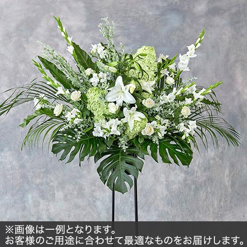 1段スタンド花Mサイズ(グリーン・ホワイト系)