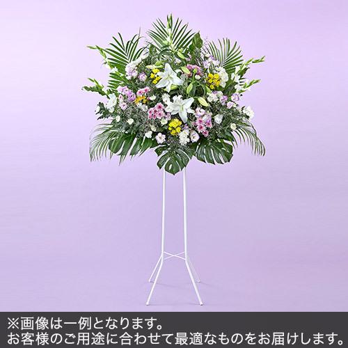 1段スタンド花Lサイズ(お悔み用)