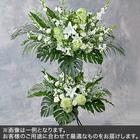 2段スタンド花Mサイズ(グリーン・ホワイト系)