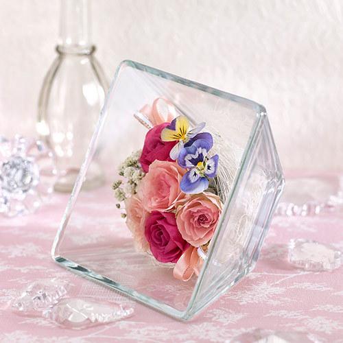 ドライフラワー「ガラスコレクション・ハピネス」