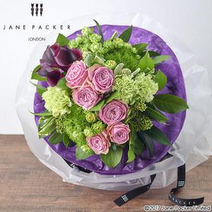 JANE PACKER 花束「グリーントレジャー(パープル)」の商品画像