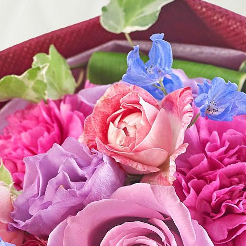 おまかせ花束「ブルー・パープル系」