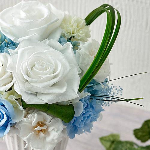 【お供え用】プリザーブド&アーティフィシャルアレンジメント「シエル」