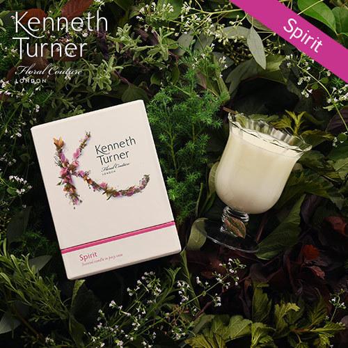 Kenneth Turner「ポージーベースキャンドル(スピリット)」