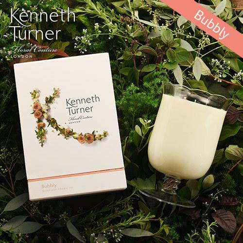 Kenneth Turner「ブーケベースキャンドル(バブリー)」