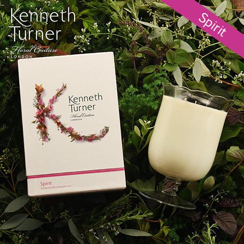 Kenneth Turner「ブーケベースキャンドル(スピリット)」
