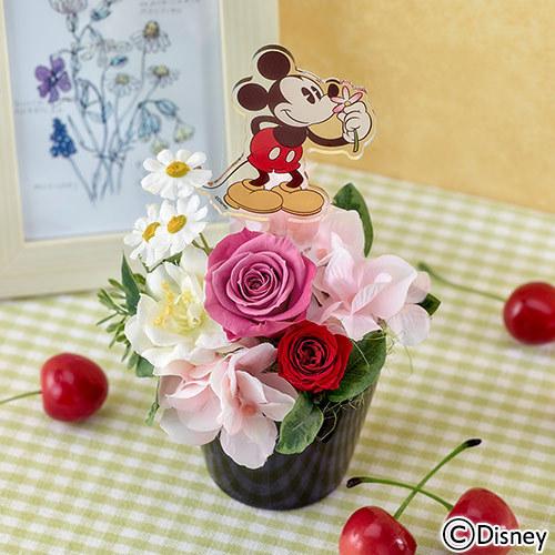 ディズニー プリザーブド&アーティフィシャルアレンジメント「アローム ミッキー」