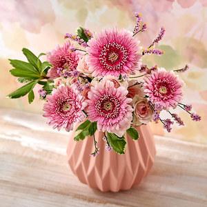 気持ちを伝える花束とフラワーベースのセットの商品画像