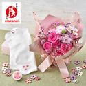 季節限定 まかないこすめ「桜のハンドクリーム&ハンカチ」とそのまま飾れるブーケ