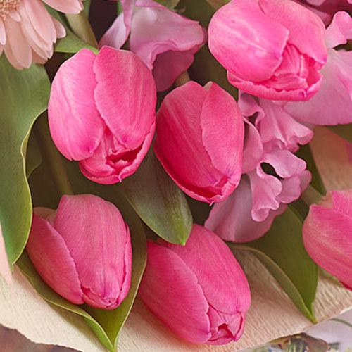 メロディ花束「スプリングハッピーバースデー」