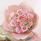 桜の形をした花束・桜ペタロ「さくら咲く」