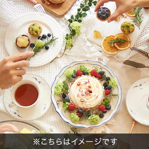 ヒビヤカダンスイーツ「花咲くローズチーズタルト」