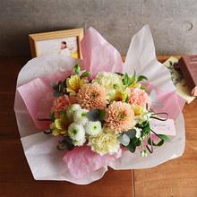 【お供え用】O・SO・NA・E flower 「4月のオリジナルアレンジメント」