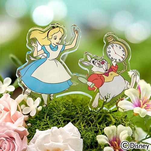 ディズニー プリザーブド&アーティフィシャルアレンジメント「アリスとうさぎ(ふしぎの国のアリス)」