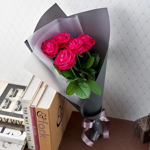 産地厳選「クニエダさんのバラ」ダークピンク系