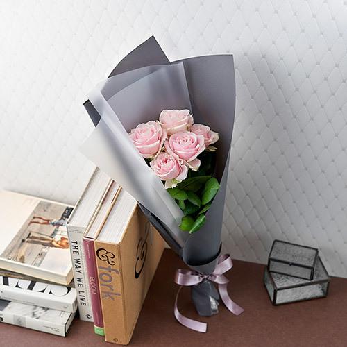 産地厳選「クニエダさんのバラ」ライトピンク系