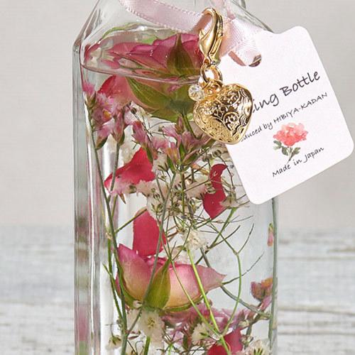 母の日 Healing Bottle「ハート チャーム」【沖縄届不可】