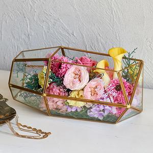 母の日 デザイナーズプリザーブド&アーティフィシャルアレンジメント「メールテラリウム」の商品画像