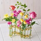 母の日 花瓶と花束のセット「ビィチィー」