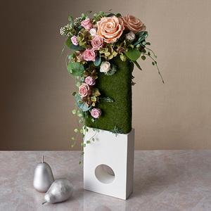 母の日 デザイナーズプリザーブド&アーティフィシャルアレンジメント「ラルク ドゥ ラ ローズ」の商品画像