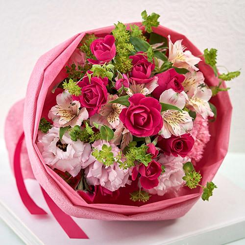 <日比谷花壇> 花束「ブリッサプリマベーラ」