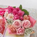 メロディーボックス花束「ローズハッピーバースデー」