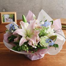 【お供え用】O・SO・NA・E flower 「5月のオリジナルアレンジメント」