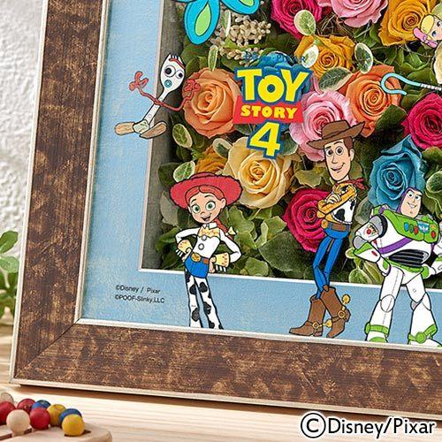 ディズニー フラワーフレームアート「TOY STORY4」