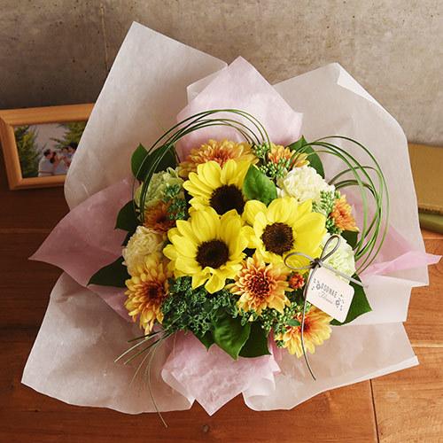 日比谷花壇【日比谷花壇】【お供え用】O・SO・NA・E flower 「7月のオリジナルアレンジメント」