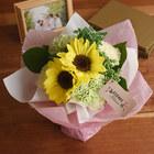 【お供え用】O・SO・NA・E flower 「7月のそのまま飾れるブーケ」
