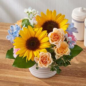アレンジメント「7月の旬の花 マルゴー」の商品画像
