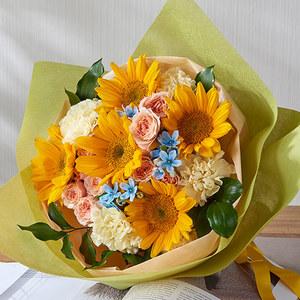 花束「7月の旬の花 オーブリオン」の商品画像