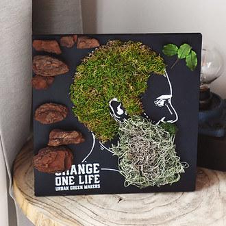URBAN GREEN MAKERS グリーンアートキット「メン」