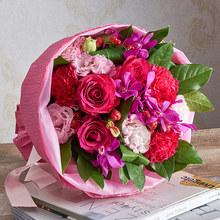 花束「8月の旬の花 オーブリオン」