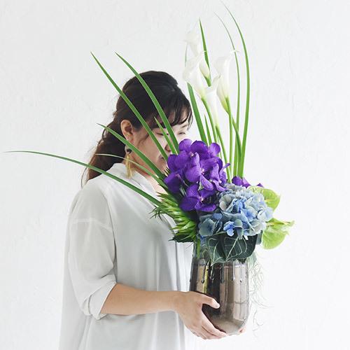 デザイナー・オーダーフラワー 服部デザイナーアレンジメント(秋冬)